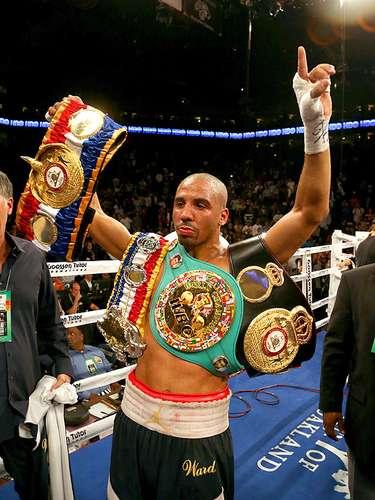 Andre WardPaís: U.S.A.Récord: 26-0-0 (14 KOs)Títulos: CMB, AMB super middleweight