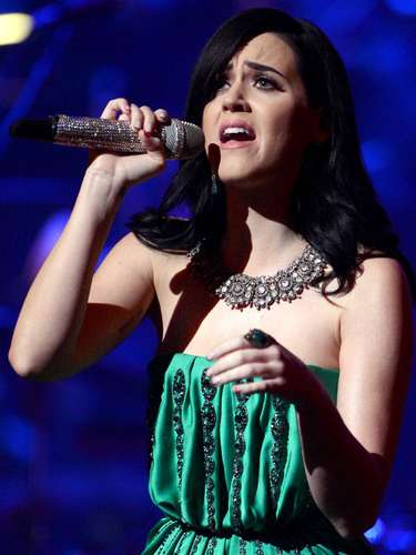 Katy Perry made $45 million this year. Her tour California Dreams brought in 60 millon and she's the only artist, apart from Michael Jackson, to have five number 1 hits from one album.