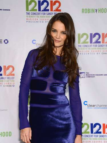 What did you think of Katie Holmes' dress? (Terra USA/Armando Tinoco)