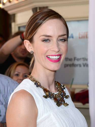 Emily Blunt dará competencia por su rol en Salmon Fishing In The Yemen.