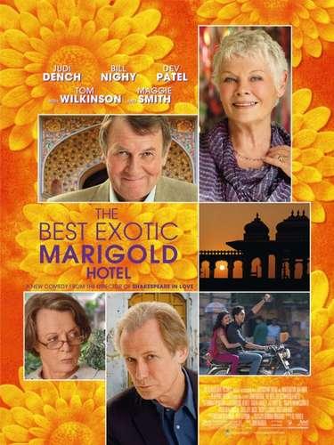 En la categoria de Mejor Película Cómica/Musical,The Best Exotic Marigold Hotel fue nominada.