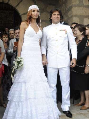El representante de Belén Esteban, Toño Sanchís, contrajo matrimonio en septiembre con Lorena.