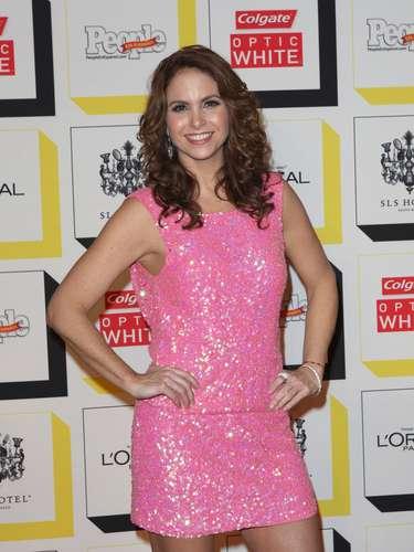 Lucero fue elegida como 'La Estrella del Año de People en Español'. La mexicana se mostró contenta de haber obtenido el voto de confianza de los fans y aprovechó para hablar del fallecimiento de Jenni Rivera de la que dijo: '\