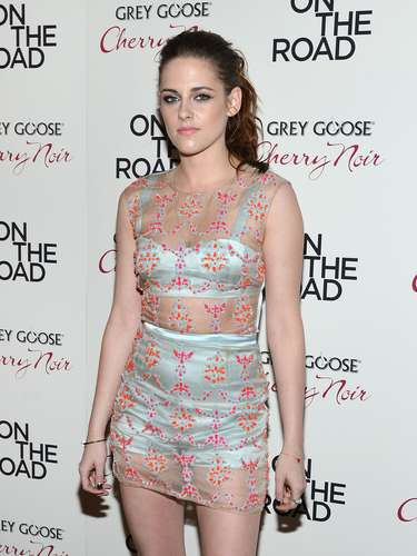 Kristen's under garments included a matching high-waisted short and bra.
