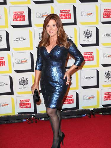 María Celeste Arrarás estuvo presente en la fiesta