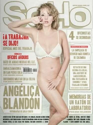 Angelica Blandon Para SoHo.