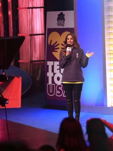 Galilea Montijo estuvo durante las 28 horas que duró la transmisión