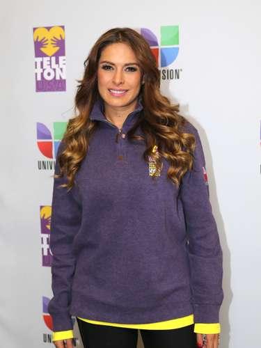 Galilea Montijo fue una de las celebridades que no dejaron de apoyar al Teletón