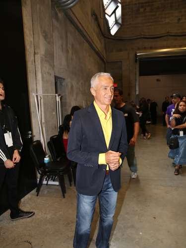 Jorge Ramos entusiasmado con el Teletón