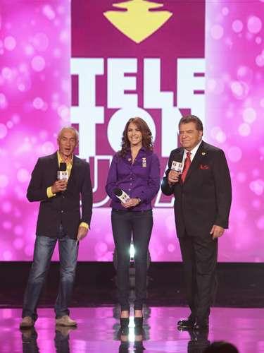 Jorge Ramos, Lucero y Don Francisco no dejaron la transmisión del Teletón