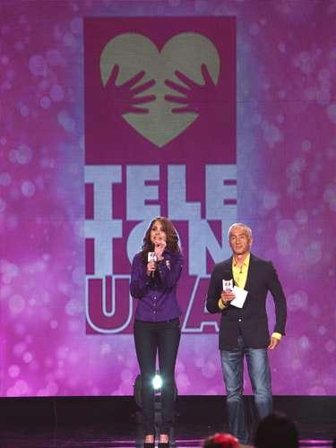 Jorge Ramos y Lucero invitaban a donar