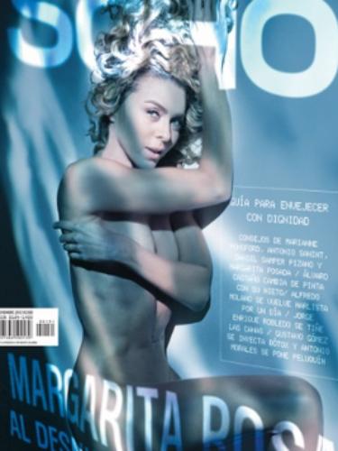 Margarita Rosa de Francisco Exhibe su cuerpo desnuda para SoHo.