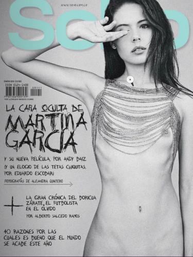 Martina García para SoHo en un ejemplo de que se pueder ser natural y lucir hermosa y sensual.