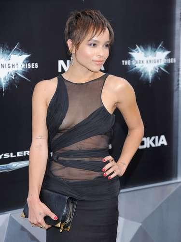 La hija de Lenny Kravtiz Zoë Kravitz, ha sido la imagen de un perfume de Vera Wang y ha posado para Jalouse y Elle.
