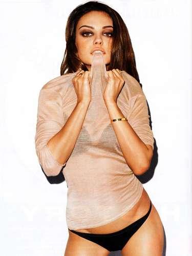 Mila Kunis puede presumir sus curvas; la actriz de 'Ted' se ha vuelto en una de las mujeres más deseadas.