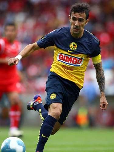 Vicente Sánchez se 'cansó' de cosechar logros con Toluca del 2001 al 2007, año en el que se fue a probar suerte en el Schalke 04 de Alemania. América lo repatrió en 2010, pero el uruguayo no pudo lucir como lo hizo en los Diablos.