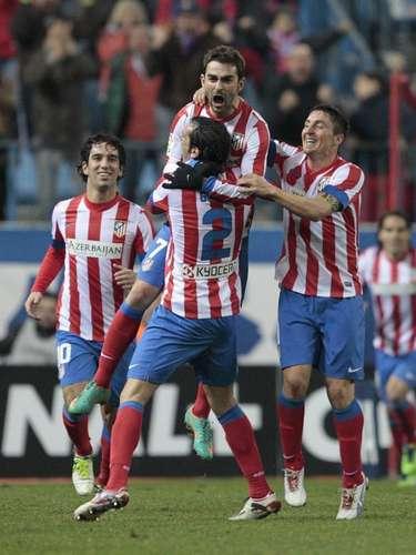 Atlético de Madrid sufrió, pero doblegó 1-0 al Celta.