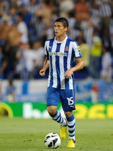Héctor Moreno, starter, played a good match for the Periquitos.
