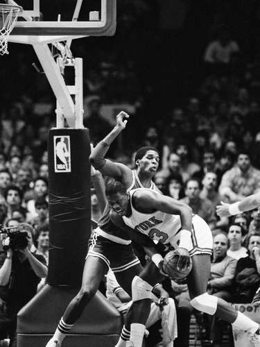 4. New York Knicks vs. Boston Celtics, 1985: Patrick Ewing announced himself on the NBA stage by leading the Knicks back from a 25-point deficit to shock the eventual world champion Celtics, 113-104 in double overtime. Ewing had 32 points and 11 rebounds to lead the way.