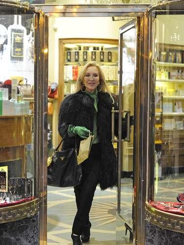 Carmen visitó una conocida perfumería de la calle Serrano de Madrid.