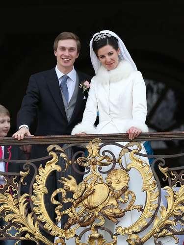 Dos meses después de la boda de Guillermo de Luxemburgo, se casaba en Francia su primo, el archiduque Christoph de Austria con la joven francesaAdelaide Drape-Frisch.