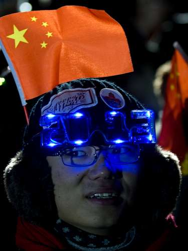 En China ya llegó el 2013.