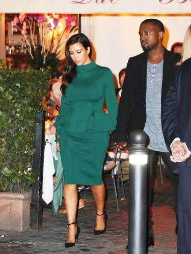 Kim Kardashian is a péplum lover due to the style giving her a way to keep all those curves under control. What do you think of Kim Kardashian and Kany West's style?