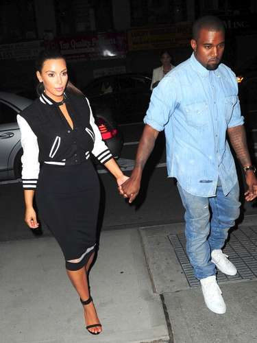 Kanye West is known for a more relaxed and casual look which has made Kim follow suit.