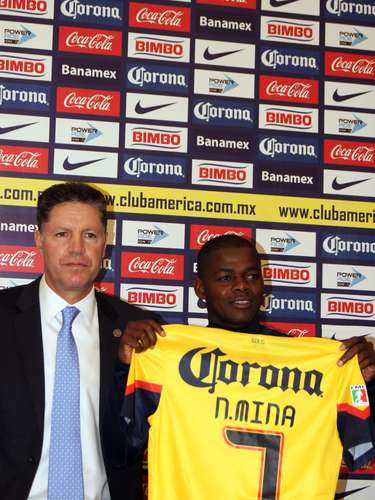 The Ecuadorian Mina, meanwhile, will use the number 7.