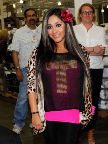 If it has the slightest hint of animal print, Snooki is on board.