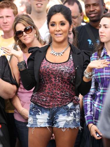 No denying that Snooki has created a persona that people should only emulate at a costume party.