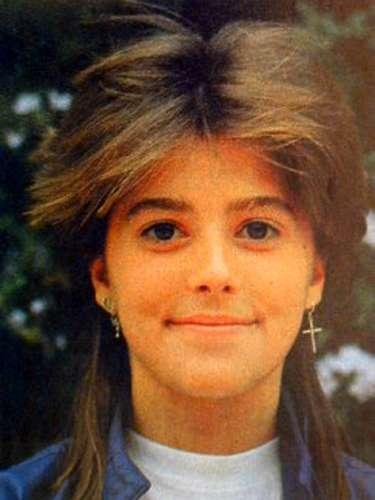 Alejandra Guzmán aproximadamente de 13 años/México, circa 1982.