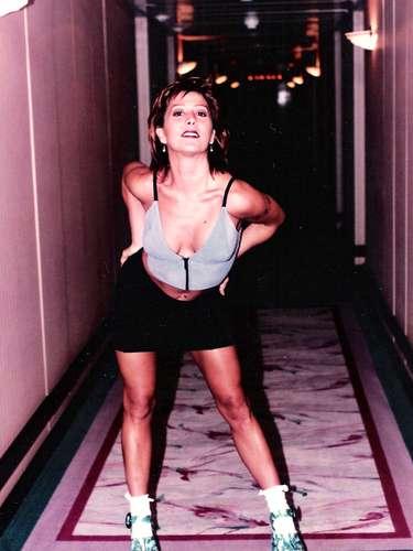 Alejandra Guzmán en 1988.