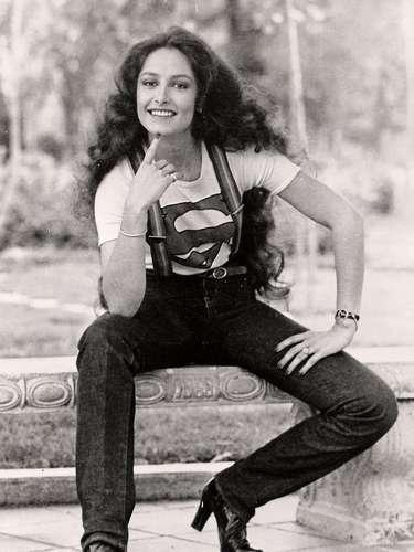 Daniela Romo debutó en la televisión con la novela \