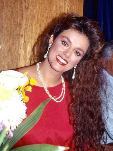 Lucía Méndez en la presentación de su telenovela \