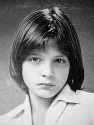 Foto archivo a los 12 años de edad, cuando presentó su primer material discográfico titulado \