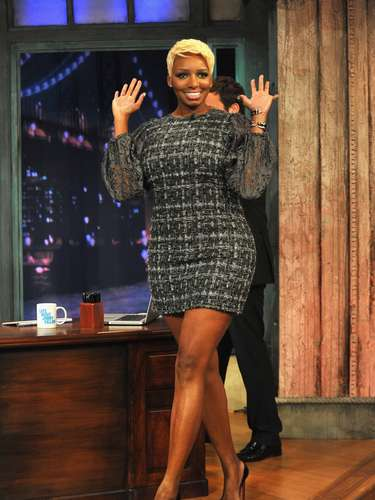 Nene Leakes was looking bangin' during her appearance on Late Night with Jimmy Fallon.