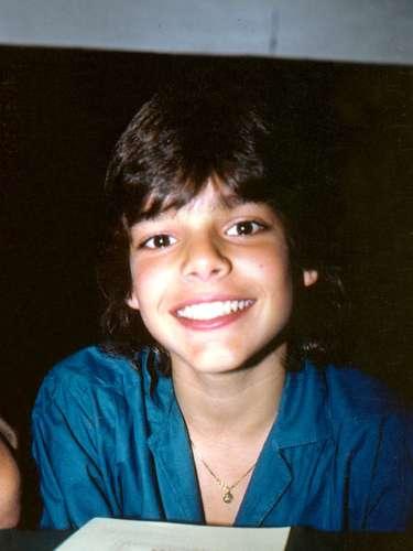 Foto archivo, a los 13 años de edad, cuando en 1984 se unió por cinco años al grupo Menudo/México, diciembre 2012.