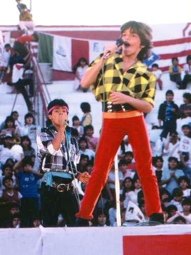 Ricky Martin a los 13 años de edad, cuando en 1984 se unió al grupo Menudo, donde duró cinco años/1984.