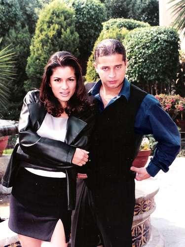 Alesandra Rosaldo y Chacho cuando estaba juntos en \