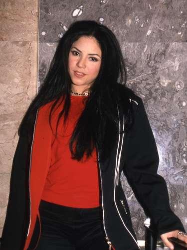 Shakira Isabel Mebarak Ripoll. Foto archivo, cuando la colombiana presentó en México su disco \