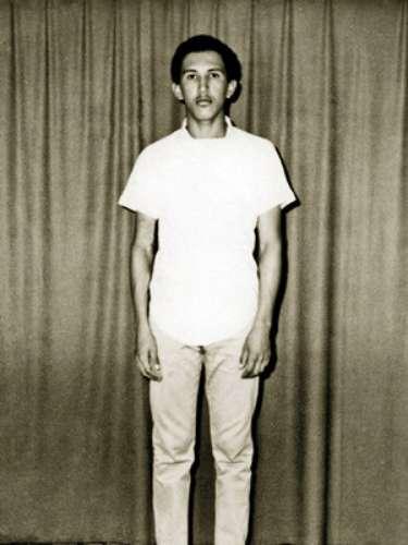 Imagen de Hugo Chávez antes de ingresar a la Academia Militar en Caracas, Venezuela, en 1972.