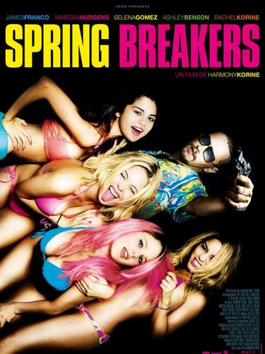 JANUARY 8 - Selena Gomez is a full-fledged bad bikini babe in the French poster for the film, 'Spring Breakers.'