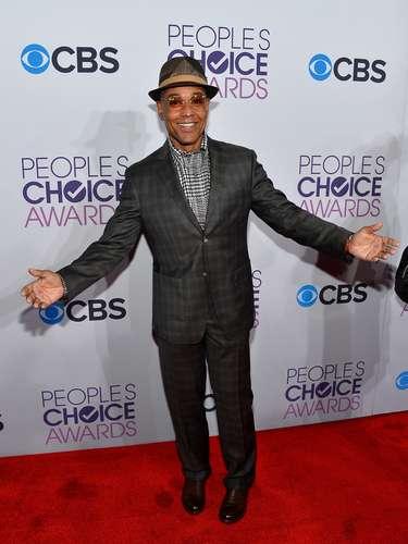El actor y productor Giancarlo Esposito era todo felicidad en la alfombra roja de los People's Choice Awards.