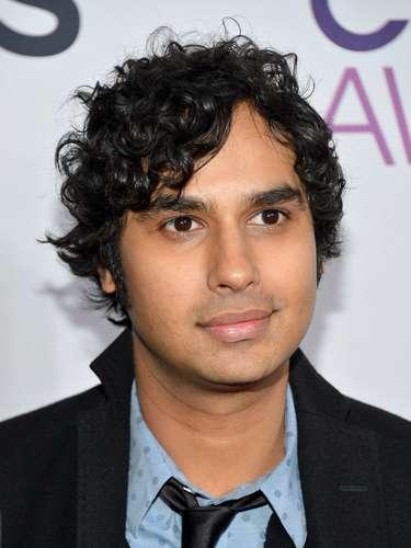 Kunal Nayyar, actor de la serie \