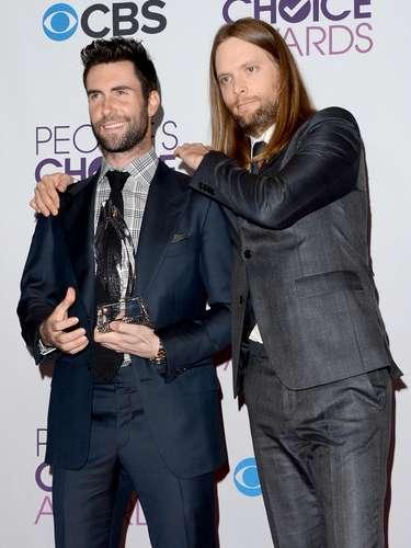 Adam Levine y James Valentine no son pareja, pero cuando se juntan... ¡son candela pura!
