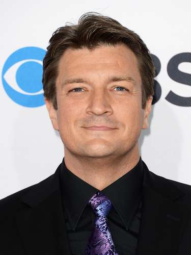 Nathan Fillion. \