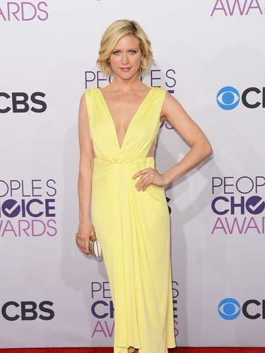 BEST: Brittany Snow was radiant in her dress.