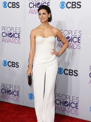 BEST: Morena Baccarin tends to go towards the extravagant side of things when it comes to fashion but at the People's Choice Awards she toned it down and it worked to her advantage.