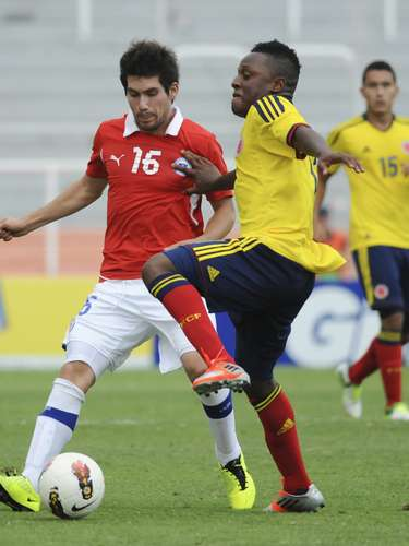 Although they pushed hard, Colombia could not muster enough offense to tie the game.